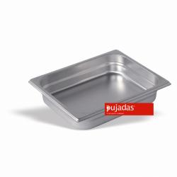 Behälter GN 1/2, 65mm tief - Pujadas Gastronorm CNS