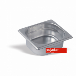 Behälter GN 1/6, 65mm tief - Pujadas Gastronorm CNS