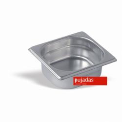 Behälter GN 1/6, 100mm tief - Pujadas Gastronorm CNS