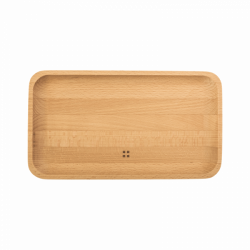 Holztablett mittel 25 x 14 cm - FLOW Wooden