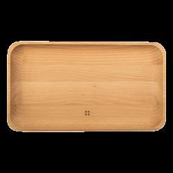 Holztablett gross 30 x 17 cm - FLOW Wooden