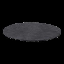 Schieferplatte rund ø 24 cm - FLOW Slate