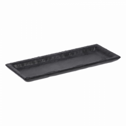 Tablett rechteckig 24,4 x 9,8 cm - FLOW Melamin