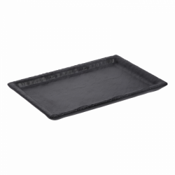 Tablett rechteckig 24,4 x 17,5 cm - FLOW Melamin