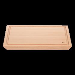 Schneidebrett mit Rille - BASIC Wooden