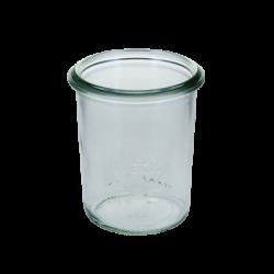 Ministurzform H: 80 mm, 160 ml, ø 7cm RR60 - Weck Glas ohne Deckel