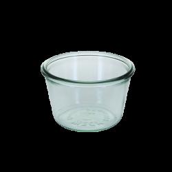 Sturzform 370 ml, H: 70 mm, ø: 110 mm RR100 - Weck Glas ohne Deckel