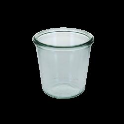 Sturzform 290ml, H: 88 mm, ø: 90 mm RR80 - Weck Glas ohne Deckel