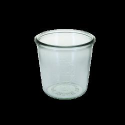 Sturzform 580 ml, H:108 mm, ø:110 mm RR100 - Weck Glas ohne Deckel