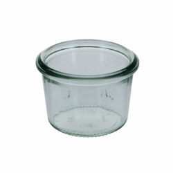 Ministurzglas 0.35 dl, H: 37 mm, ø: 55 mm - Weck Glas ohne Deckel