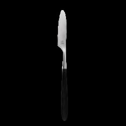 Tafelmesser - GAYA Exeter Stiel grau-schwarz matt