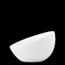 Bowl aslope large, 19 cm - Flow Eco weiss Lunasol