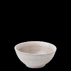 Bowl 155 mm Spiral rocca / sand glasur aussen - Gaya Atelier color