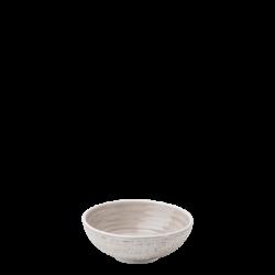 Bowl 11 cm Spiral rocca / sand glasur aussen - Gaya Atelier color