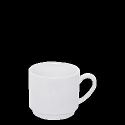 Kaffee-Obere stapelbar 0.20 lt. - Lunasol Hotelporzellan uni weiss