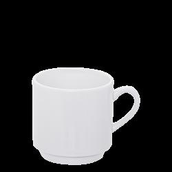 Kaffee-Obere stapelbar 0.26 lt. - Lunasol Hotelporzellan uni weiss
