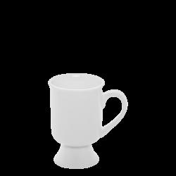 Mug klein 0.09 lt. - Lunasol Hotelporzellan uni weiss