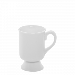 Mug gross 0.19 lt. - Lunasol Hotelporzellan uni weiss