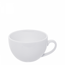 Tee-/Cappuccino Obere 32cl - Lunasol Hotelporzellan uni weiss
