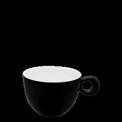 Kaffee-/Tee Obere, 2.5 dl - RGB schwarz gloss Lunasol