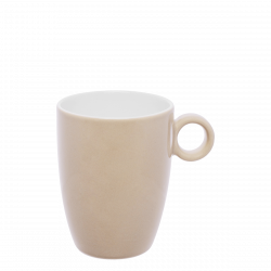 Kaffee-Obere 0.20 lt hoch - RGB Champagne gloss Lunasol