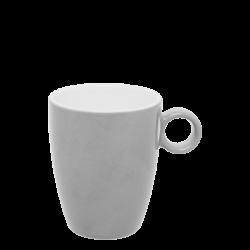 Kaffee-Obere 0.20 lt hoch - RGB hellgrau gloss Lunasol