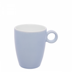 Kaffee-Obere 0.20 lt hoch - RGB hellblau gloss Lunasol