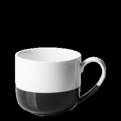 Mug 2.8 dl / 80 mm - FLOW Lunasol schwarz/weiss
