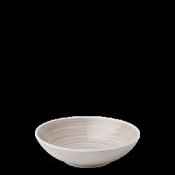 Teller tief 19.5 cm Coupe Spiral rocca / sand glasur aussen - Gaya Atelier color