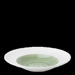 Pastateller 29 cm olive / weiss aussen - Grand Hotel Premium color