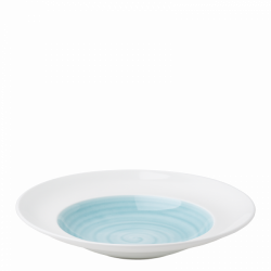 Pastateller 29 cm azul / weiss aussen - Grand Hotel Premium color