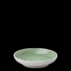 Coupe Teller 20 cm olive /sand glasur aussen - Elements Hotelporzellan color