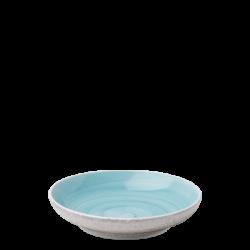 Coupe Teller 20 cm azul / sand glasur aussen - Elements Hotelporzellan color