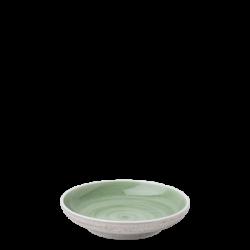 Coupe Teller 16 cm olive /sand glasur aussen - Elements Hotelporzellan color