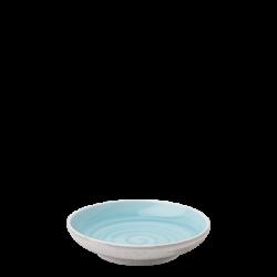 Coupe Teller 16 cm azul / sand glasur aussen - Elements Hotelporzellan color