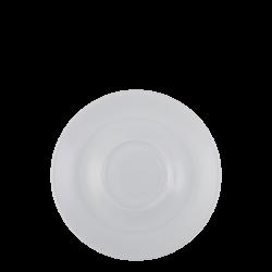 Tee-/Cappuccino Untere 16 cm - Lunasol Hotelporzellan uni weiss