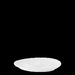 Kaffee Untere Triangle - FLOW Raised Structur weiss
