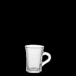 Teeglas mit Henkel 23 cl, H:104 mm - Teeglas