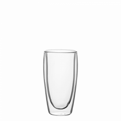 Becher 330 ml Set 4-tlg. - BASIC Glas Double Wall
