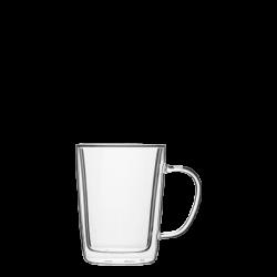 Mug 300 ml Set 4-tlg. - BASIC Glas Double Wall