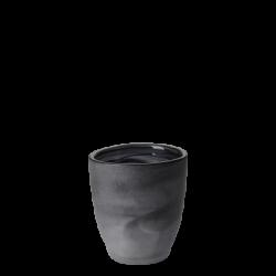 Wasserglas 3 dl - Elements Glas schwarz satiniert