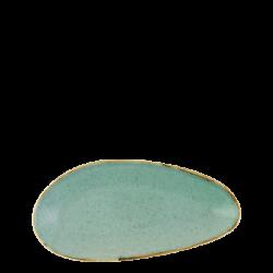 Platte oval 25 cm - Gaya Sand türkis Lunasol