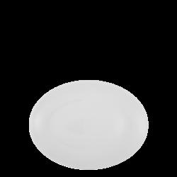 Platte oval 22 cm - Lunasol Hotelporzellan uni weiss