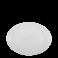Platte oval 26 cm - Lunasol Hotelporzellan uni weiss