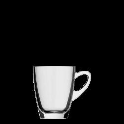 Henkelbecher/Mug, klar, 32 cl, H:100 mm - Kenya