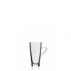 32 cl, H:143 mm, ø 7.2 cm - Kenya Henkelbecher/Mug SLIM, klar
