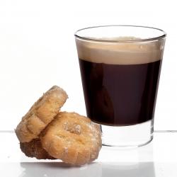 Kaffeeglas Caffeino 8.5 cl, H:71 mm - Caffeino