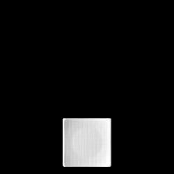 Teller flach quadratisch 9cm - Rosenthal Mesh weiss