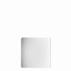 Teller flach quadratisch 14cm - Rosenthal Mesh weiss