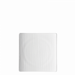 Teller flach quadratisch 17cm - Rosenthal Mesh weiss